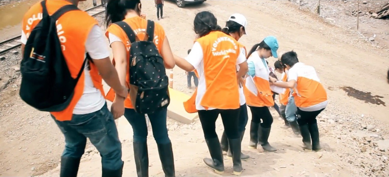 Voluntarios de esperanza