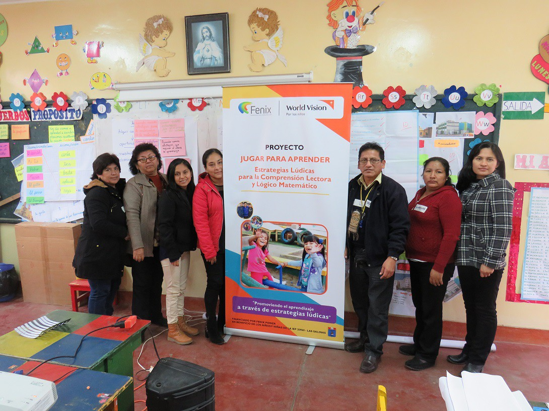 Fenix Power y World Vision Perú promueven educación lúdica en Chilca