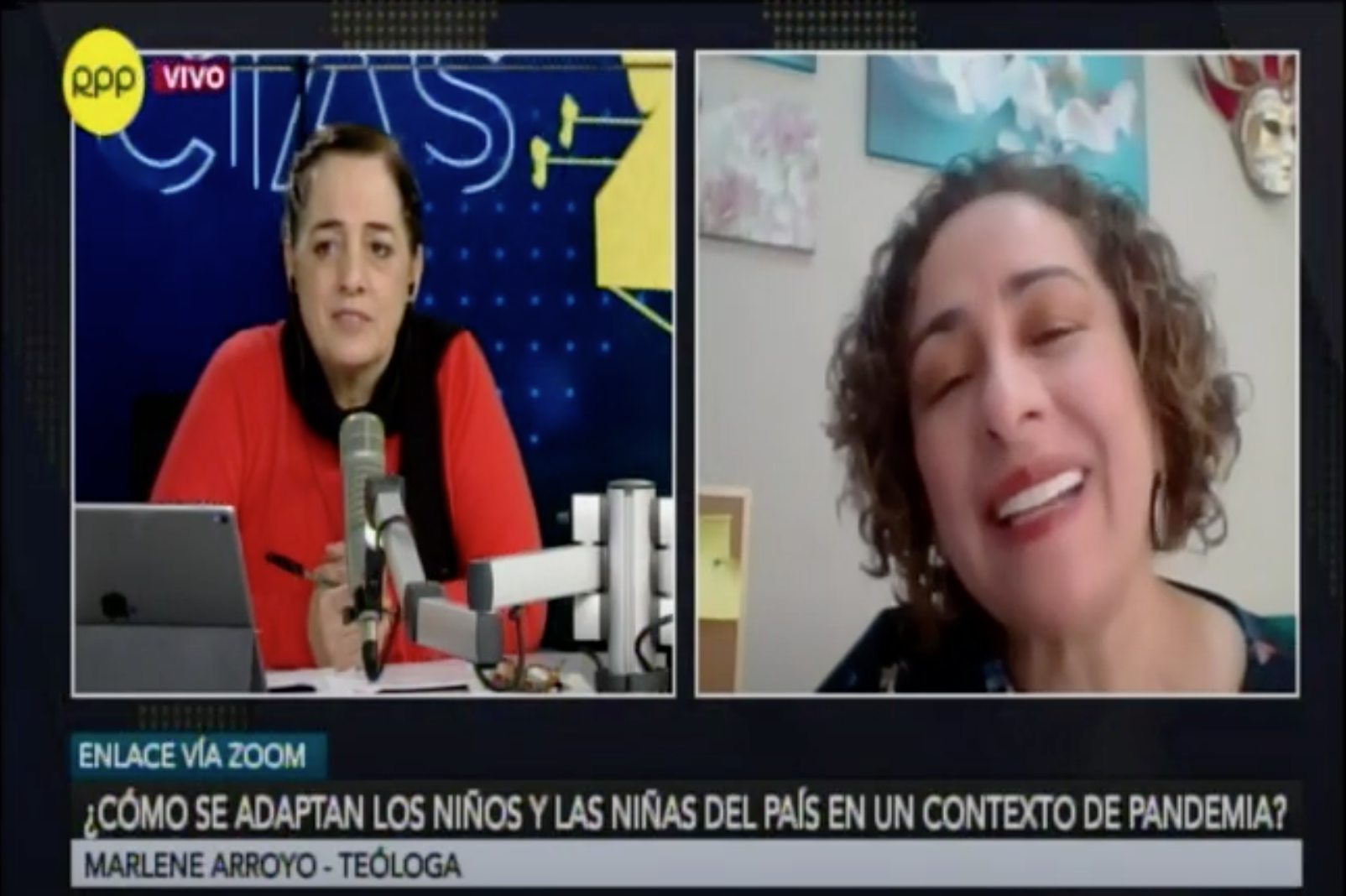 Marlene Arroyo y la Red ANALIT en RPP